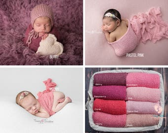 Pink Newborn Wrap,Newborn Wrap,Newborn Photo Prop,Photo Prop,Baby Wrap,Stretch Knit Wrap,Blush Wrap,Blush Pink,Photography Prop,Stretch Wrap