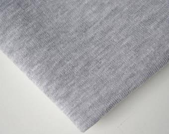 Fabric Jogging gray melir uncoupled | Per Metre