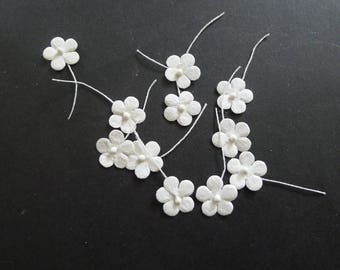 11 white white flowers decoration