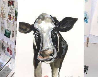 Cow print!