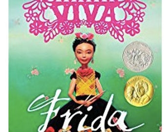 Viva Frida by Yuyi Morales, Frida Kahlo,The Artist, Art Paintings, Gift for GIrls, Gift for Boys,Art Educational Book