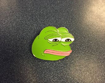 Pepe the Frog Hat Pin
