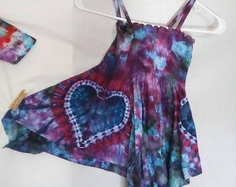 Tie Dye Festival Dress
