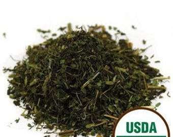 ORGANIC STEVIA LEAF, Kosher. 1 ounce package. Natural Calorie-free Sweetener! Lovely in herbal teas.