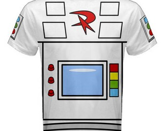 Gizmoduck Inspired Adult costume Shirt MADE TO ORDER (4 week Processing time)