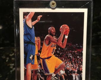 Kobe Bryant 1996 Topps RC - Near Mint Condition  - Sharp & Well-Preserved - Rookie Card - Lakers Legend