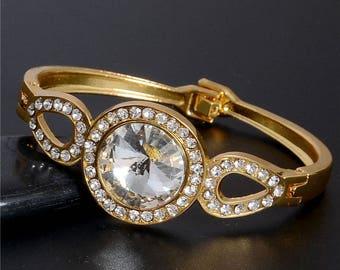 fancy with Rhinestones bracelet