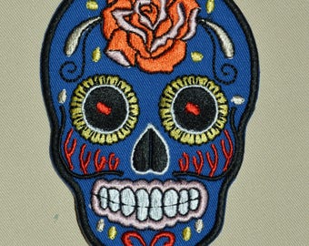 color skull patch