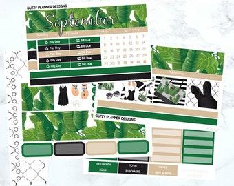 September Monthly Sticker Kit