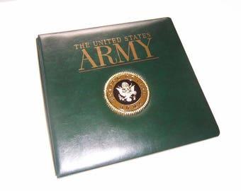 Army Scrapbook Album - Army Photo Album - Military Scrapbook Album - Army Photo Scrapbook Album - Army Photo Book - Army Gift Idea, Army Mom
