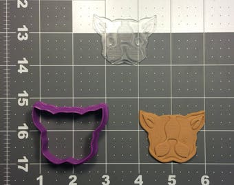 French Bulldog 103 Cookie Cutter and Stamp (Imprinted)