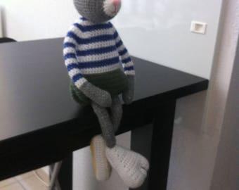 Wool Plush Adrien le petit Lapin