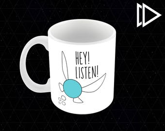 Zelda Navi Fairy Hey Listen 11oz Coffee Mug