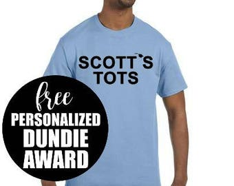 Scott's Tots, The Office, Funny Tshirt