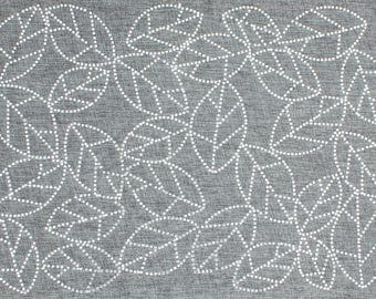 Rhinestone Leaves Placemat