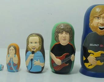 Phish Matryoshka Russian nesting dolls
