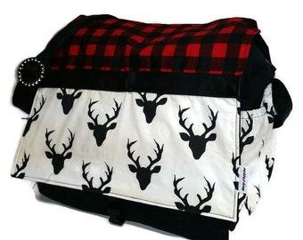Large diaper bag / diaper bag / carry bag / travel bag.