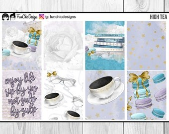 High Tea Weekly Planner Kit