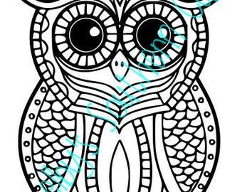 Cute Owl SVG