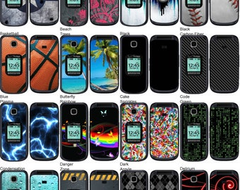 Choose Any 2 Designs - Vinyl Skins / Decals / Stickers for Samsung Gusto 3 Android Smartphone