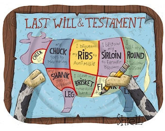 Cow Last Will and Testament