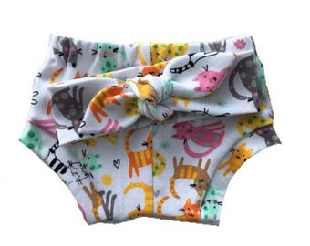 Baby girl, baby girl clothes, Shorties, Bummies, cats, shorts, baby girl shorts, baby shorts