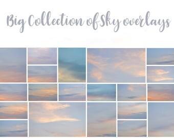 Big Collection of Sky Overlays, sky overlay,  sky overlays, photoshop overlay, cloud overlay