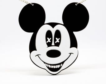 Mickey mouse pendant  Etsy
