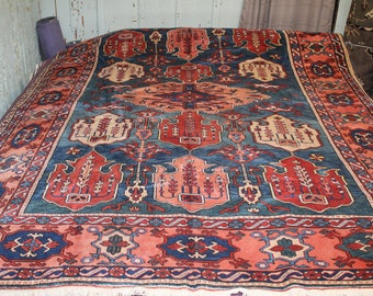 Turkish Oushak (Usak) handmade Rug, 8x12ft