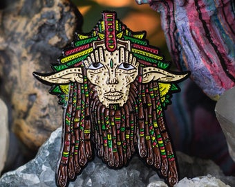 The Wise Wook Pin Rasta Variant