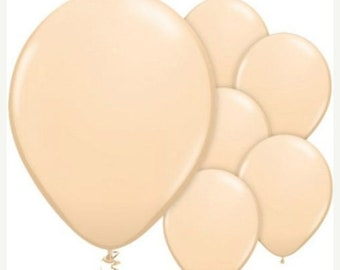 "ON SALE 25 Blush Balloons 11"" Balloons, Wedding Shower Balloons, photo party decor"