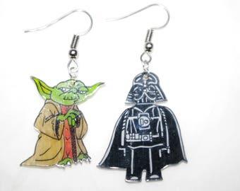 cartoon characters from star wars earrings!