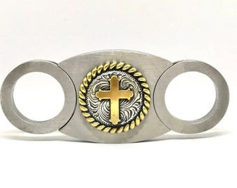 Western Cross Cigar Cutter