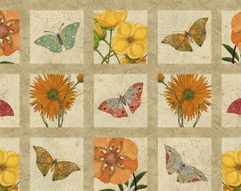 Northcott 'Floral Block' Fabric By The Yard; Artisan Spirit Euphoria by Karen Sikie, 21304-12