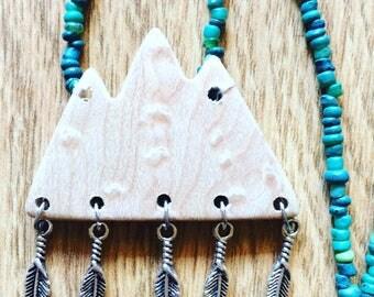 Green mountain necklace