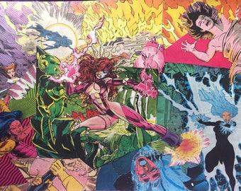 Superwomen Collage - Original