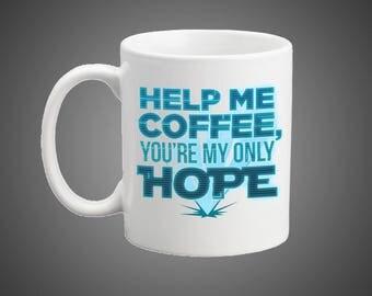 Space Hologram Coffee Mug