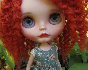 "Custom Blythe Doll ""Scarlet"" by Olivia Framhein ( Olivia Dolls)"