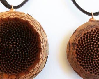 Protea Pendant Necklace