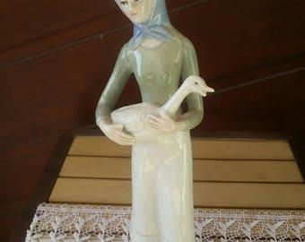 Vintage Porcelain Figurine