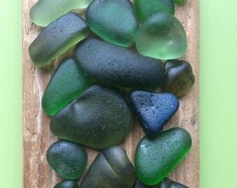 Green sea glass , sea glass pieces , Scottish sea glass , authentic sea glass , genuine sea glass , glass mosaic pieces , mosaic pieces