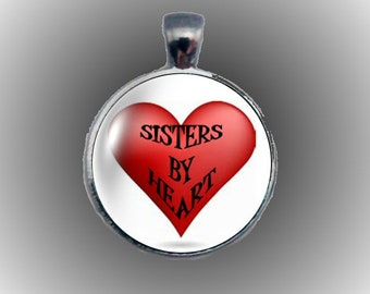 Sisters by Heart Pendant