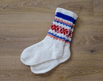100% Natural Wool Socks (EU 39/US 8.5)