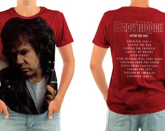 GARY MOORE after the war shirt all sizes