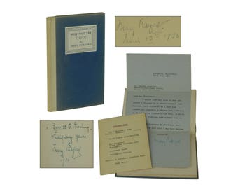 SIGNED Hollywood Association Copy ~ Why Not Try God ~ MARY PICKFORD First Edition 1934 1st
