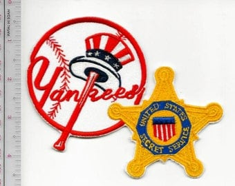 Secret Service USSS New York City Field Office NY Yankees Agent Service Patch