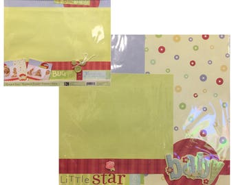 K&Company Simply K Baby Boy - Premade Pages