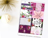Autumn Wine Vertical Kit | Made to fit the Classic Happy Planner