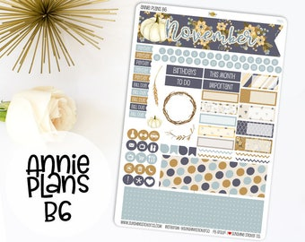 Annie Plans B6 Size Monthly Kit | You pick the month! 760L