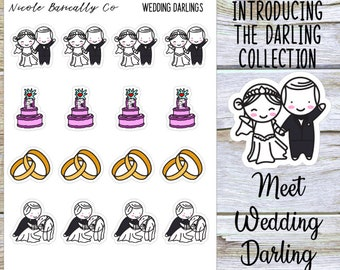 Wedding Darlings Planner Stickers